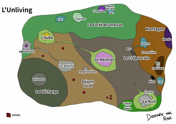 Les lieux de l'Unliving