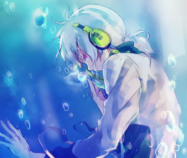 """"""" Dans ce monde... Deux types... De personnes. Ceux qui tentent... De nager... Ou ceux qui... S'abandonnent... Au courant. Mais, au final... Tous se noient. """""""