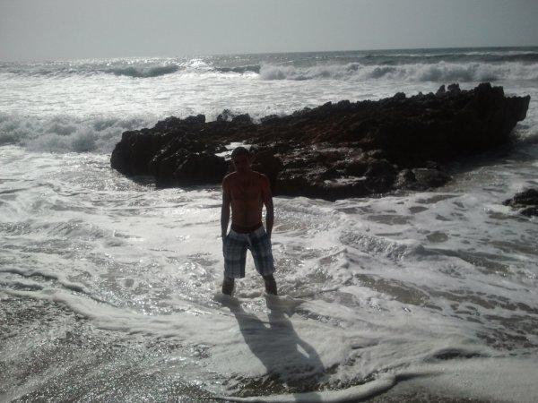 plage D'Aglou Tiznit. Maroc