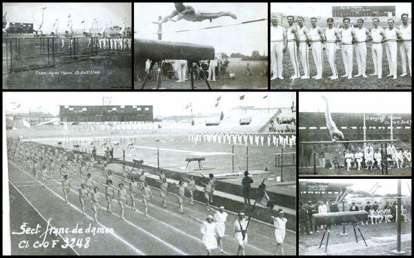 Before 1964... ce qu'il s'est passé ds le monde de la gym et aux JO avant 1964...