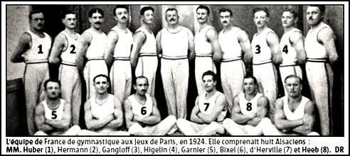 Before 1964... Les gymnastes français médaillés olympiques...