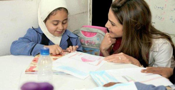 Actualité du 02/05/2012 (La reine Ranie en visite dans 3 écoles)