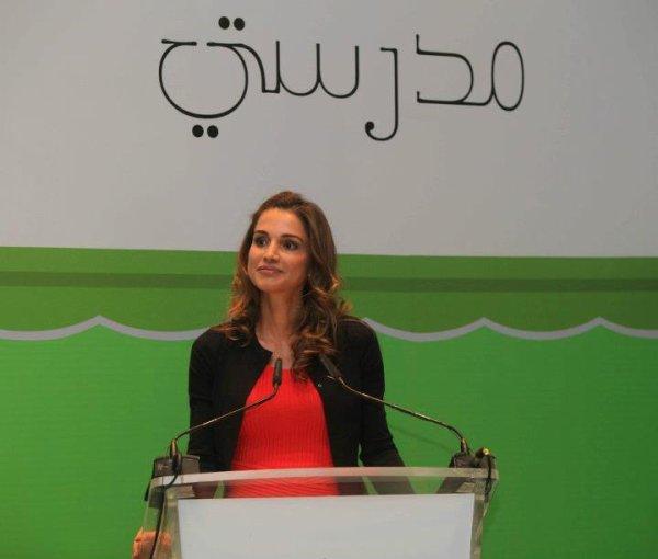 Actualité du 07/05/2012 (La reine rania et madrasati)