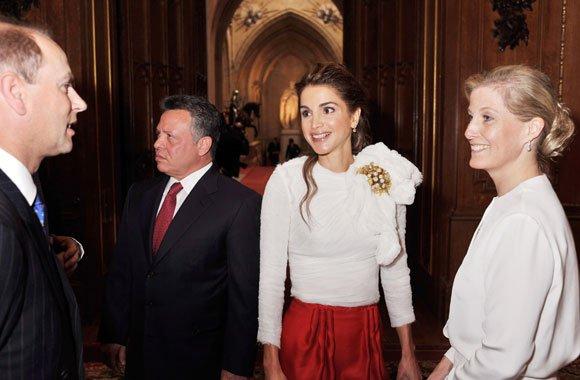 Actualité du 18/05/2012 (Réception a windsor pour le jubilé de diamant de la reine Elizabeth II )