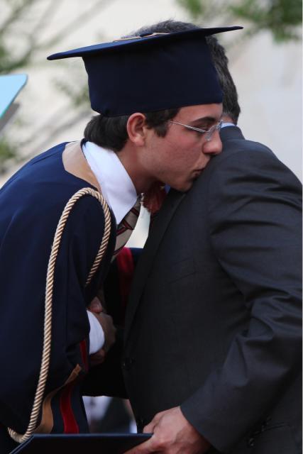 Le prince héritier Hussein a reçue son dîplome !!