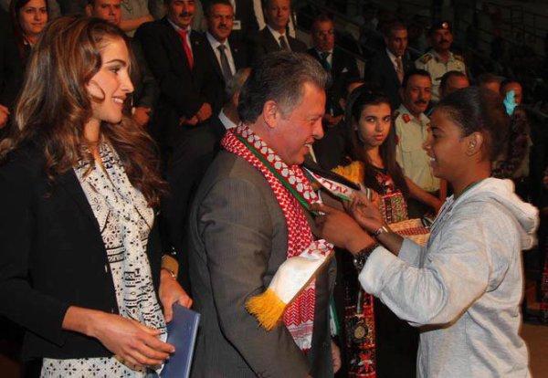 Actualité du 03/06/2012 (Le roi la reine et la princesse iman au conservatoire)