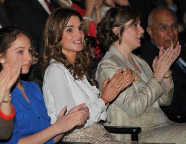 Actualité du 07/06/2012 (Rania et Iman à la remise des diplômes)