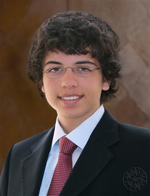 Photos d'archives du prince héritier Hussein de Jordanie