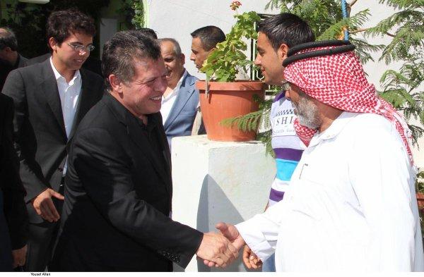 Actualité du 20/07/2012 (Le roi et le prince héritier à Karak)