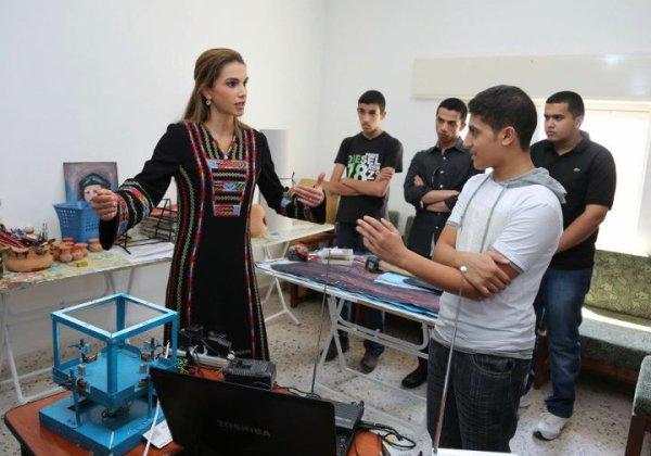 Actualité du 23/07/2012 (La reine Rania à Karak)
