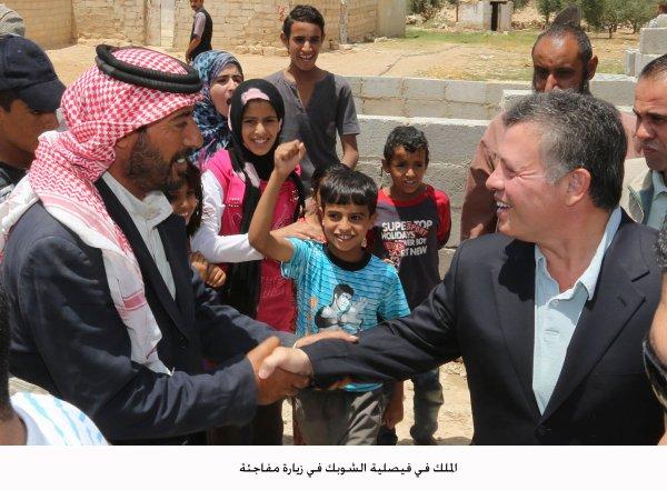 Actualité du 28/07/2012 (Le roi en visite surprise à Shobak)