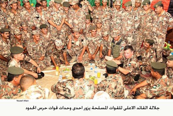 Actualité du 1/08/2012 (Le roi et la garde frontière)