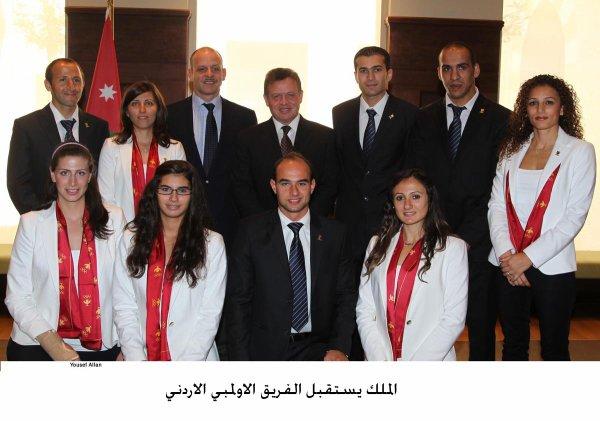 Actualité du 16/08/2012 (le roi et l'équipe olympique)