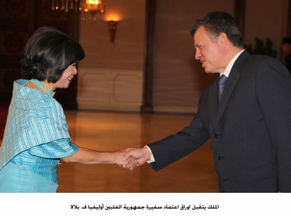 Actualité du 03/09/2012 (Le roi et les nouveaux ambassadeurs)