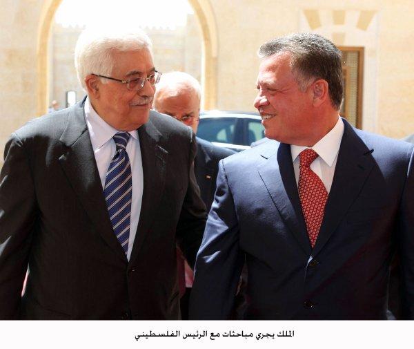 Actualité du 05/09/2012 (Le roi et le président palestinien)