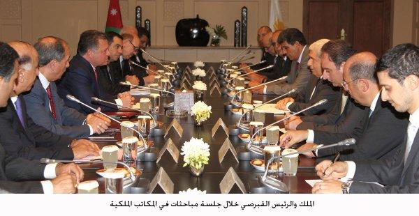 Actualité du 05/09/2012 (Le roi et la reine Rania reçoivent)