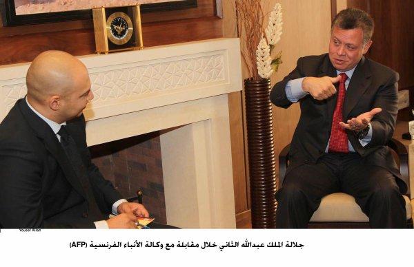 Actualité du 12/09/2012 (Le roi parle du nouveau parlement à la presse)