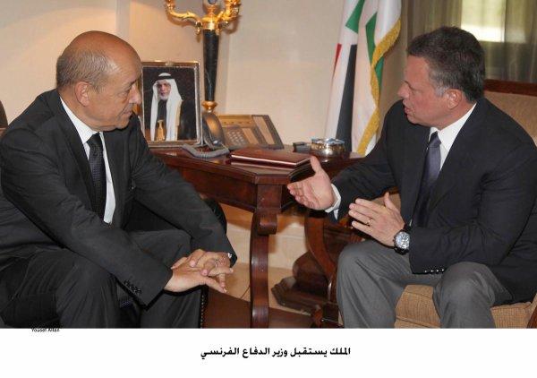 Actualité du 13/09/2012 (Le roi reçoit le ministre de la Défense française)