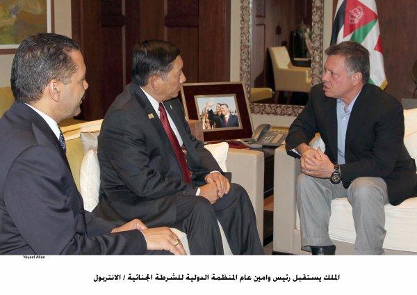 Actualité du 17/09/2012 (Le roi Abdullah II de Jordanie et l'interpol)