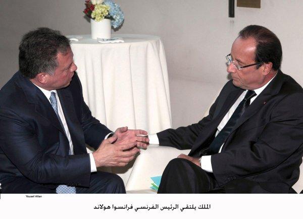 Actualité du 25/09/2012 (Le roi abdullah II et l'ONU)