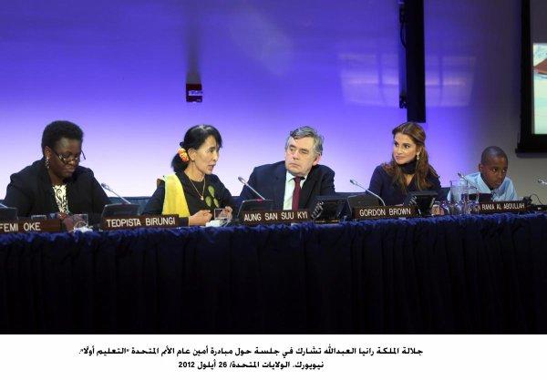 Actualité du 27/09/2012 (La reine Rania à l'ONU)