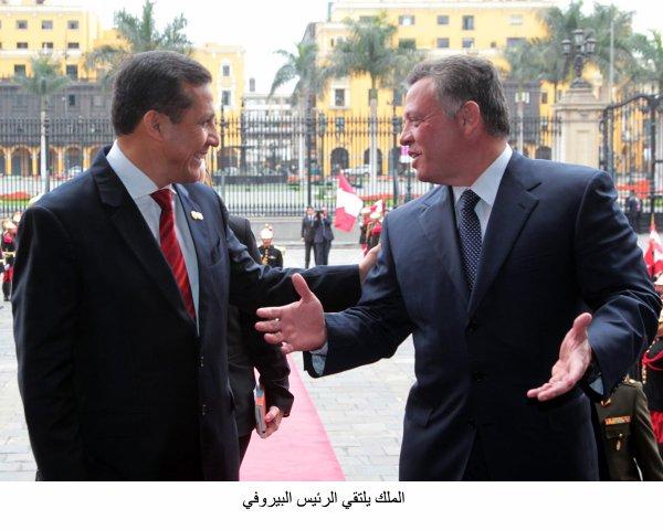 Actualité du 01/10/2012 (Le roi à Lima)
