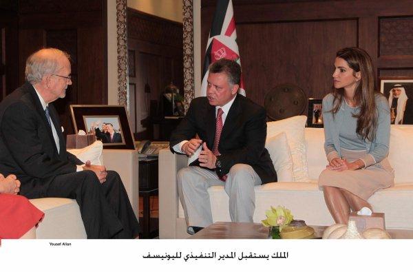 Actualité du 08/10/2012 (Le roi, la reine et l'UNICEF)