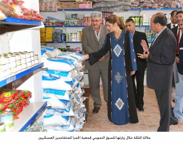 Actualité du 09/10/2012 (La reine et la Jordan River Foundation)