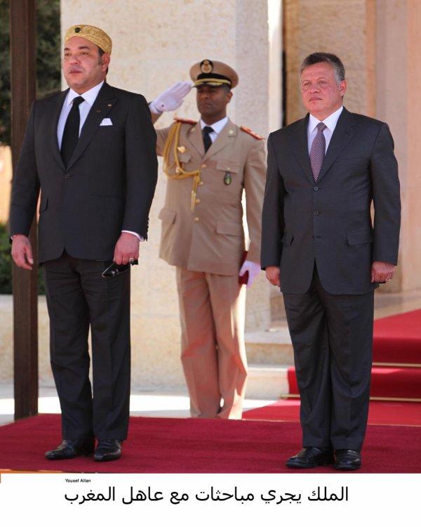 Actualité du 18/10/2012 (Le roi et le roi du Maroc)