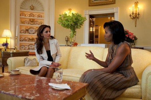 Reine Rania : La classe et l'intelligence !!