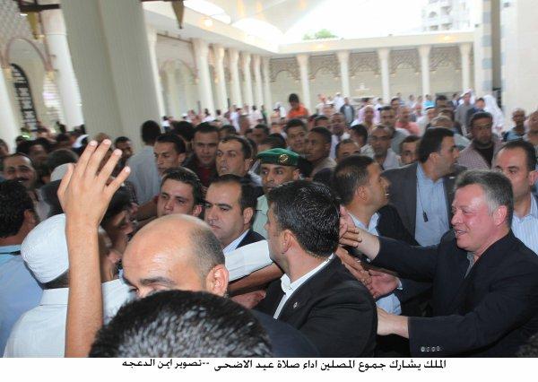 Actualité du 26/10/2012 (Le roi et la prière de L'aid  Al Adha )
