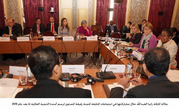 Actualité du 31/10/2012 (La reine rania et l'ONU )