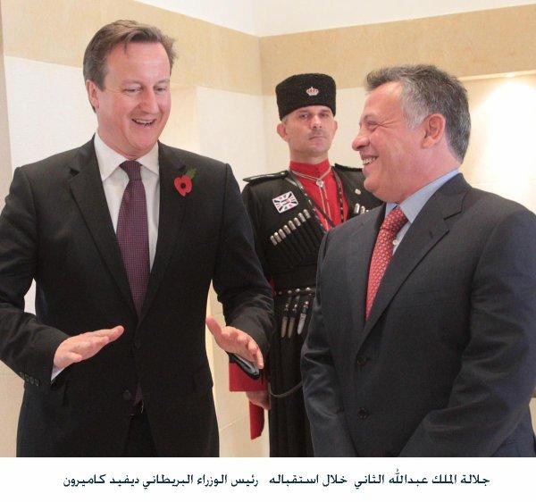 Actualité du 07/11/2012 (Journée du 07 novembre 2012 du Roi Abdullah II)