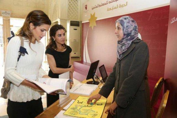 Actualité du 26/11/2012 (La reine Rania et l'enseignement)