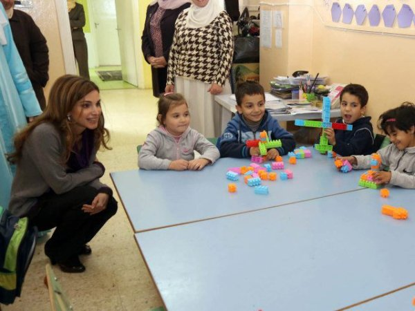 Actualité du 04/12/2012 (La reine Rania en visite)
