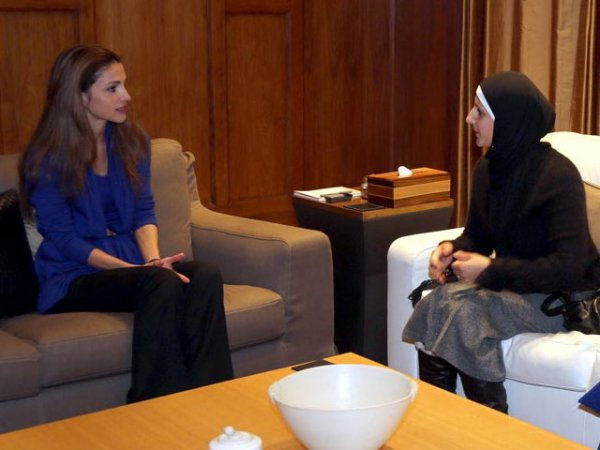 Actualité du 09/12/12 (La reine Rania et les gagnantes)