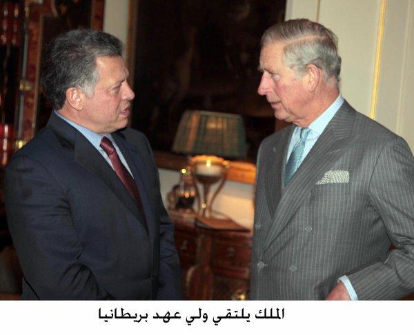 Actualité du 12/12/12 (Le roi et le prince Charles)