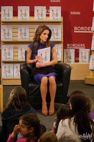 La reine Rania, la princesse Iman et le prince Hussein !