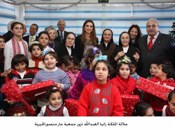Actualité du 19/12/2012 (La reine Rania et les enfants)