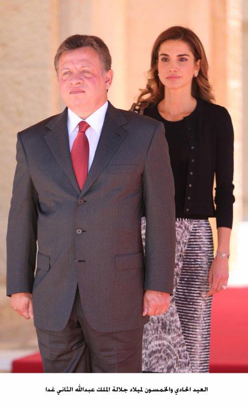 Anniversaire du Roi Abdullah II de Jordanie !