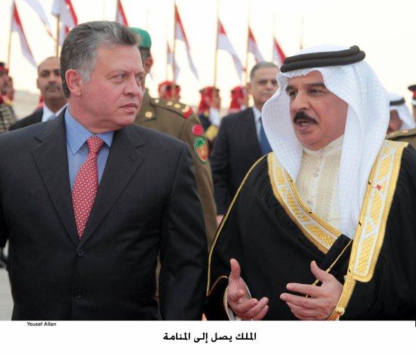 Actualité du 29/01/2013 (Le roi à Manama)