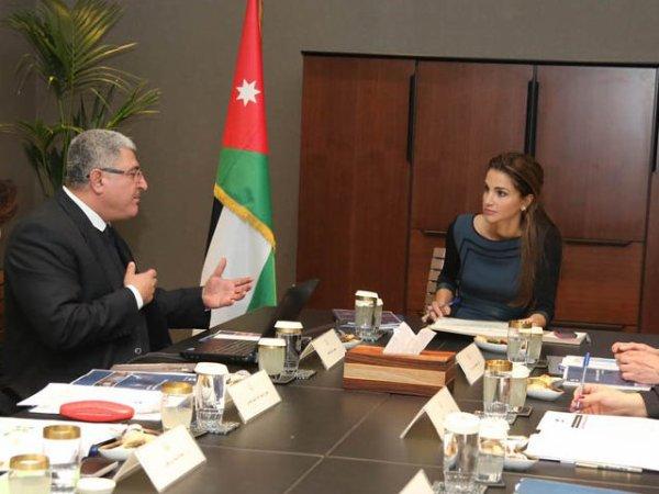 Actualité du 29/01/2013 (La reine et la Fondation Jordan River )