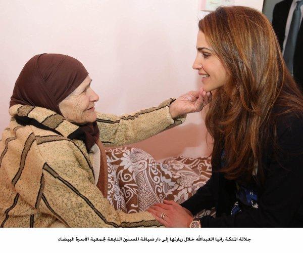 Actualité du 04/02/2013 (La reine Rania et les personnes âgées)