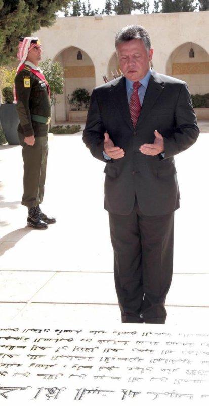 Actualié du 07/02/2013 (Le roi, la reine, et feu le roi Hussein)