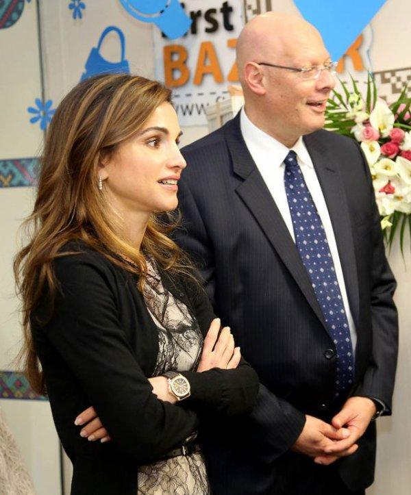 Actualité du 19/02/2013 (La reine Rania à l'Oasis)