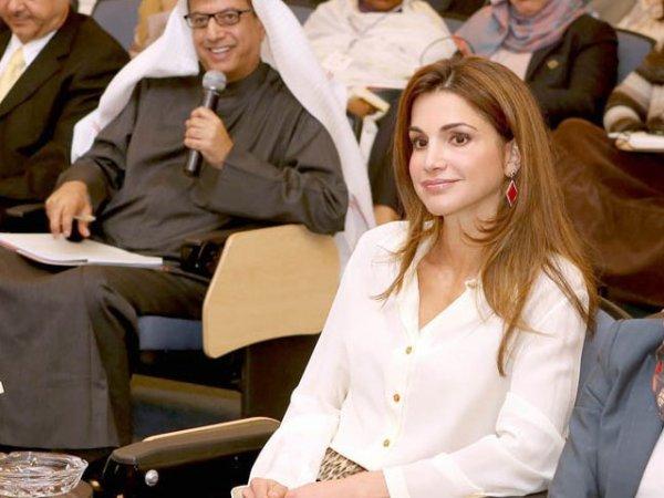 Actualité du 03/03/2013 (La reine Rania et le développement)