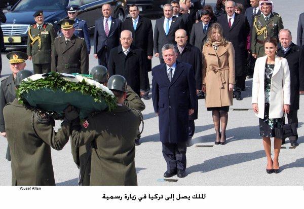 Actualité du 05/03/2013 (Le roi Abdullah II et la Reine Rania en visite officielle en Turquie)