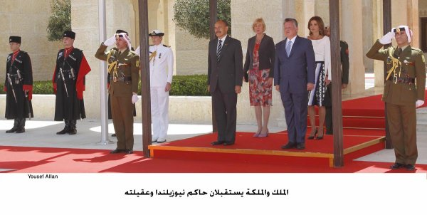 Actualité du 07/04/2013 ( Le roi et la reine reçoivent)