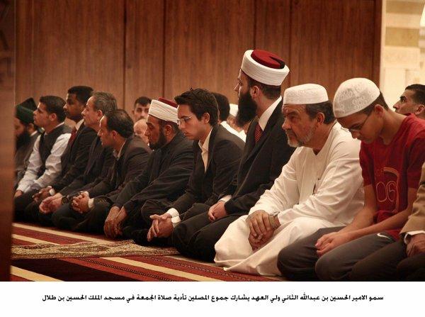Actualité du 31/05/2013 (Le prince héritier à la mosquée)