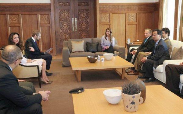 Actualité du 06/06/2013 (La reine Rania et la fondation de la guerre)